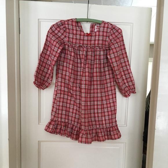 oshkosh girls size 6 christmas nightgown